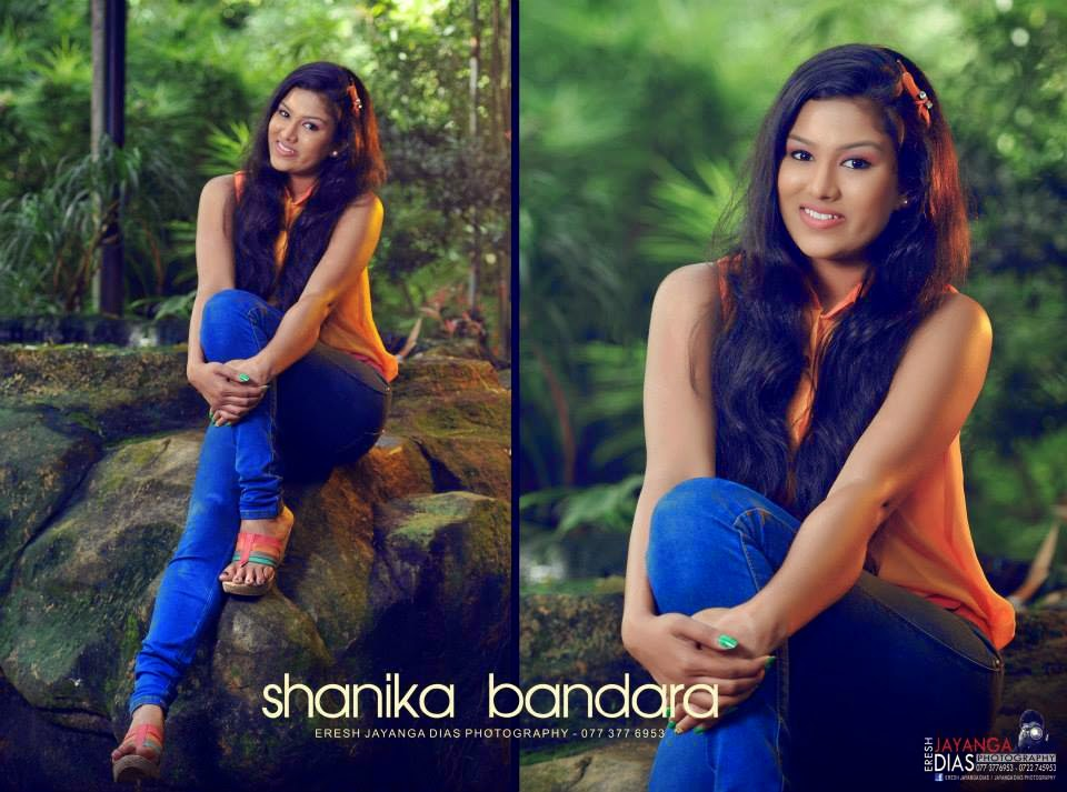 Shanika Bandara tight jeans