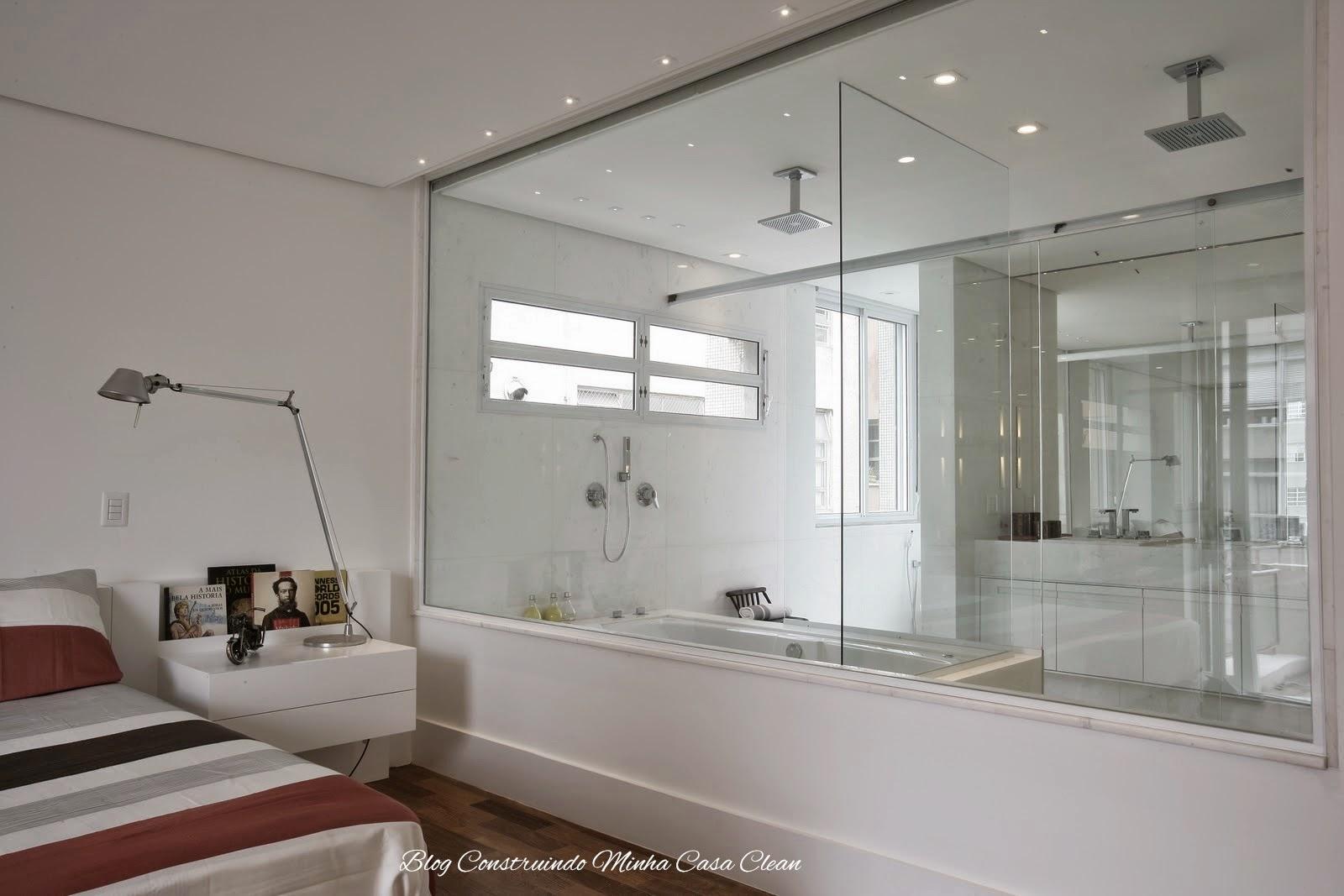 blog de decoração - Arquitrecos: Banheiro aberto para o quarto ...
