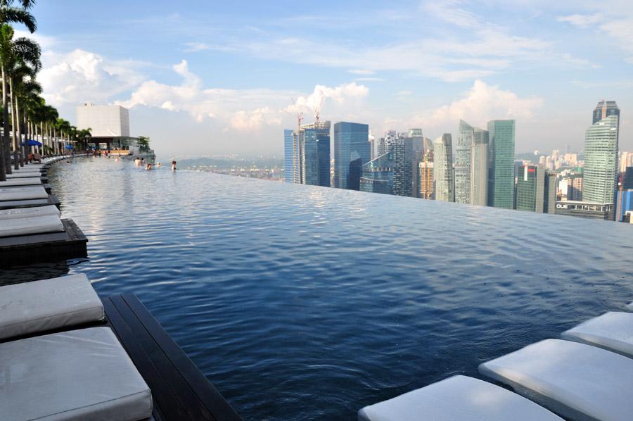 сингапур отель с лодкой