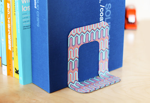 Washi tape bookend