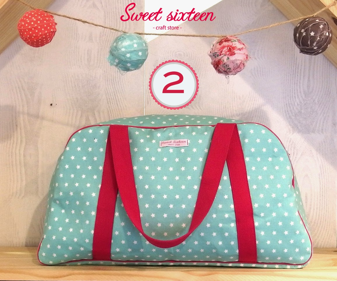 "SAL DE COSTURA: ""WEEKEND BAG"" Sweet sixteen"