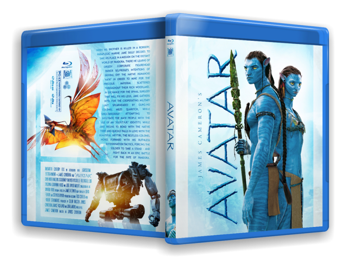 Avatar Blu-ray Dvd Case
