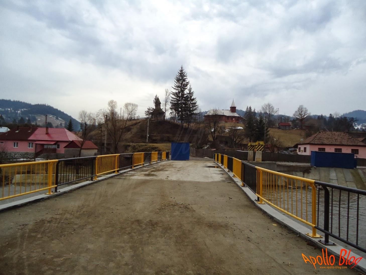 Noul pod peste Mures Stanceni