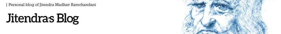 Jitendra's Blog