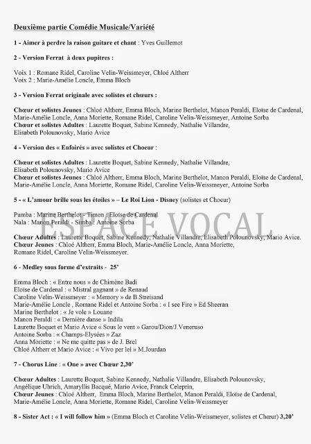 Cours de chant juniors