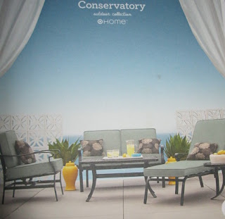 Unique Conservatory Love Seat on clearance at Target for Was