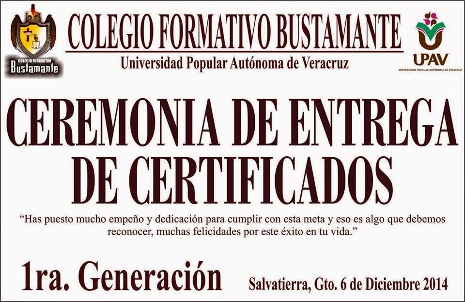 Certificación de conocimientos