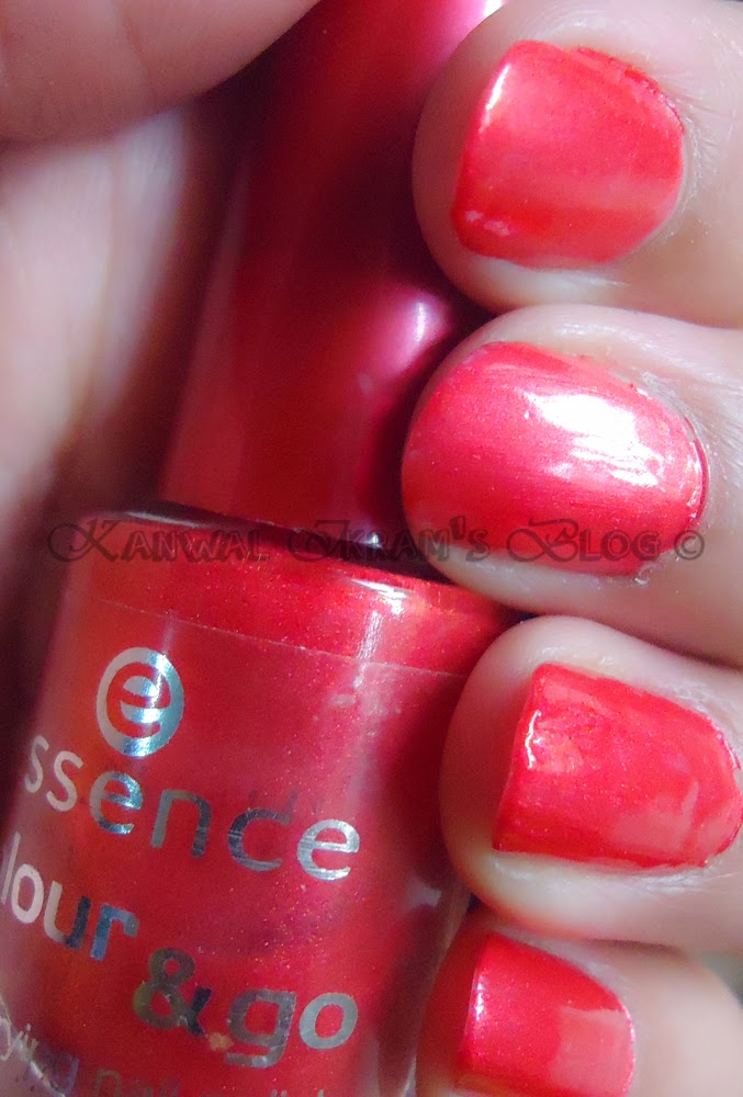 Essence Colour And Go Nail Polish-Review And Swatches