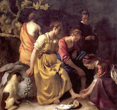 Johannes Vermeer Diana and her companions