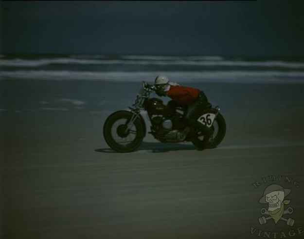 Racing on the Beach at Daytona