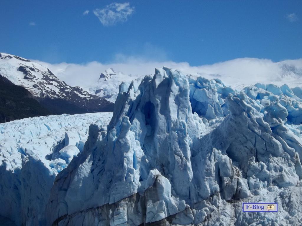 Glaciar Perito Moreno - Picos elevados - Parque Nacional Los Glaciares