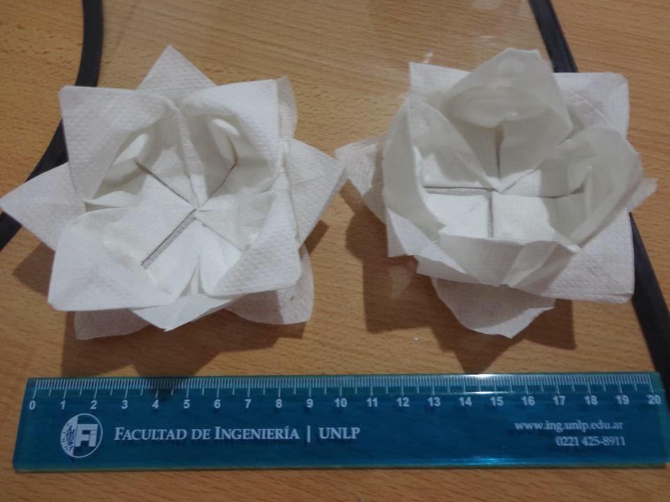 Mi propia miscel nea - Origami con servilletas ...