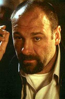 james gandolfini in a french beard