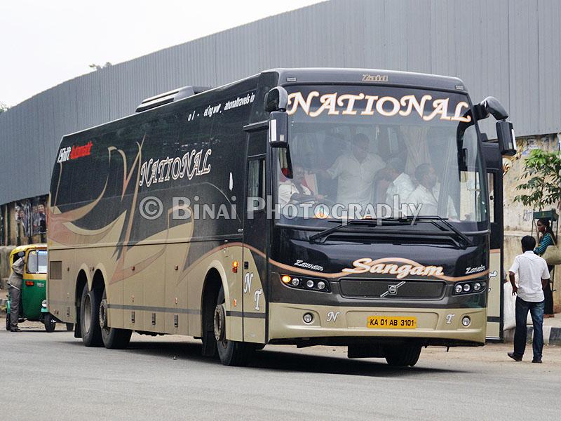 National Travels Mumbai To Bangalore By Ishift B9r