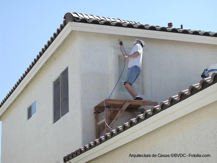 Arquitectura de casas recursos para pintar las casas - Como pintar fachadas de casas ...