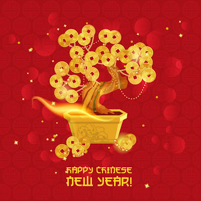 Chinese-new-year-with-gold-coin-vector
