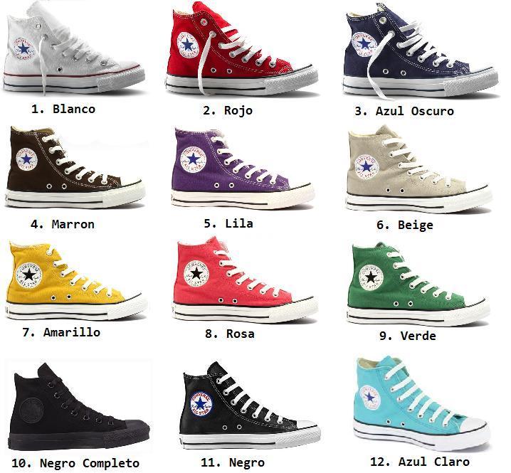 converse zapatillas precio
