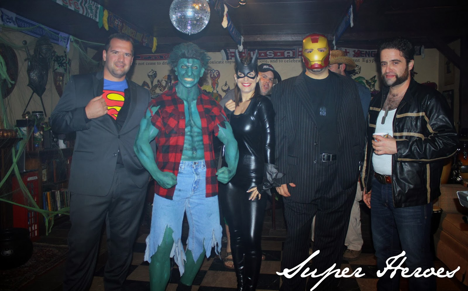 Super Heroes at The Tipsy Terrier Pub
