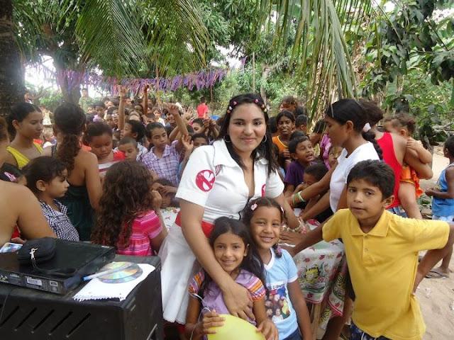 IMAGEM - Dia das crianças no Alto da Fumaça em Lago Verde - MA