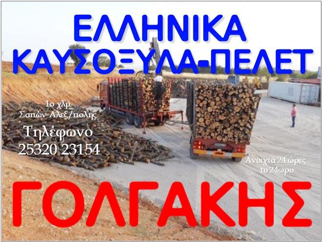 ΕΛΛΗΝΙΚΑ ΚΑΥΣΟΞΥΛΑ-ΠΕΛΕΤ ΓΟΛΓΑΚΗΣ