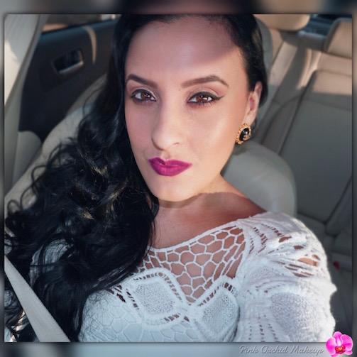 Todays-Makeup-And-Hair-PinkOrchidMakeup