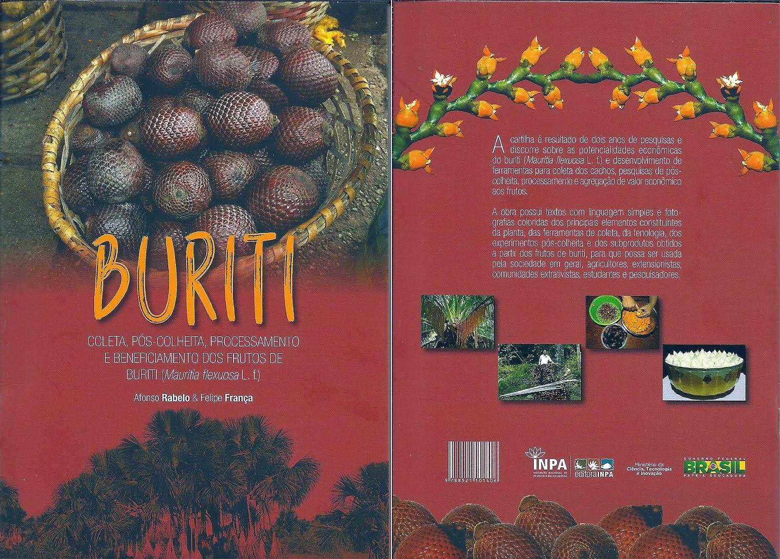 Publicada pela Editora Inpa a Cartilha Buriti