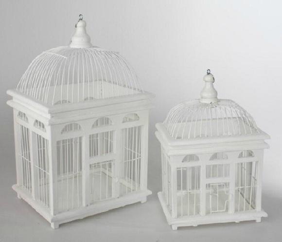 Manualidades creativas vintage jaulas decorativas y - Jaulas decorativas ikea ...