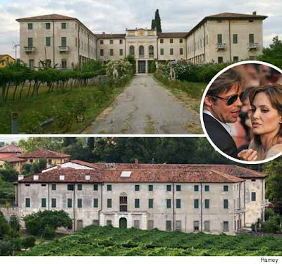 Hollywood Celebrity Houses Angelina Jolie And Brad Pitt 39 S