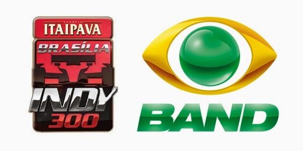 Band fecha contrato de mídia com Itaipava para etapa de Brasília da Fórmula Indy