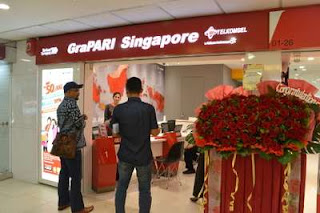 Telkomsel GraPARI Open in Singapore