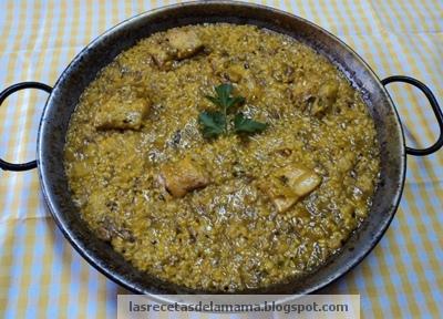 Las recetas de la mam receta de arroz con bacalao y coliflor - Superchef cf100 ...