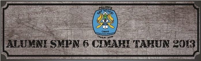 Ikatan Alumni SMP Negeri 6 Cimahi Tahun 2013