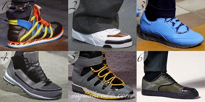 Fall 2014 Men's Footwear Fashion Trends