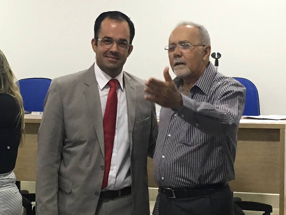Vagner com Fernando Montalvão
