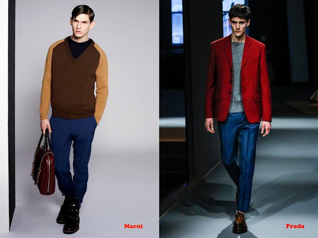 Tendencia otoño_invierno 2013-14 color block: Marni y Prada