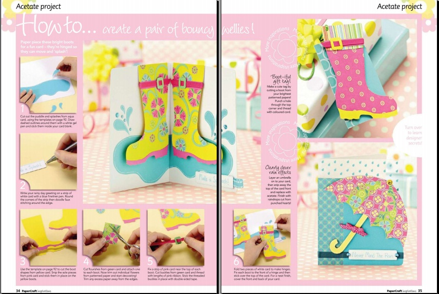 Miracle hands: Free craft book: Papercraft inspirations 2 / 2011