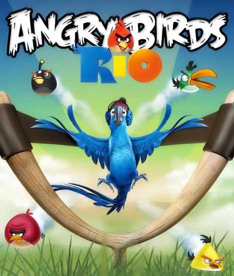 Download PC Games At Rifky Games: Angry Birds Rio 1.2.2