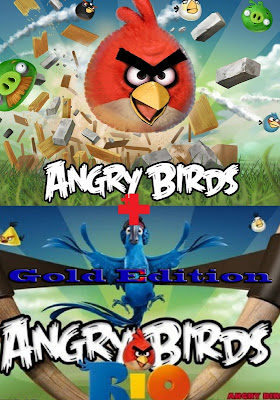 Angry Birds Rio Gold Edition 2011 Mega Pack
