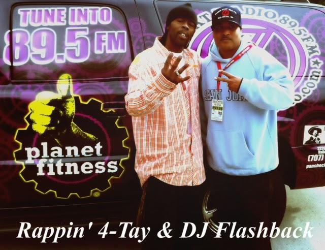 Rappin 4-Tay @ Ozcat Radio