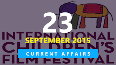 Current Affairs 23 September 2015