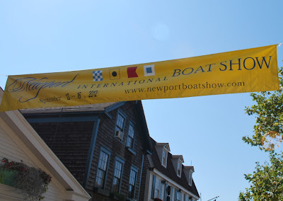 Newport Boat Show banner