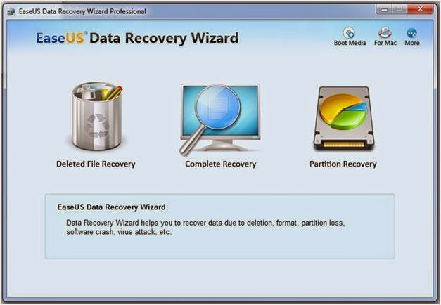 Review EaseUS Data Recovery Wizard Pro