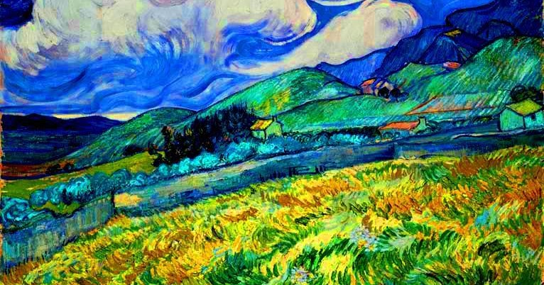 el museo de hipatia vincent van gogh quotlandscape from