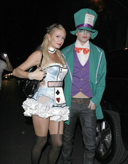 Celebrity Halloween Paris Hilton
