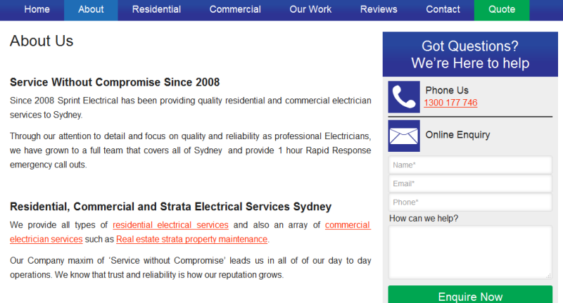 trusted licensed electricians in Sydney