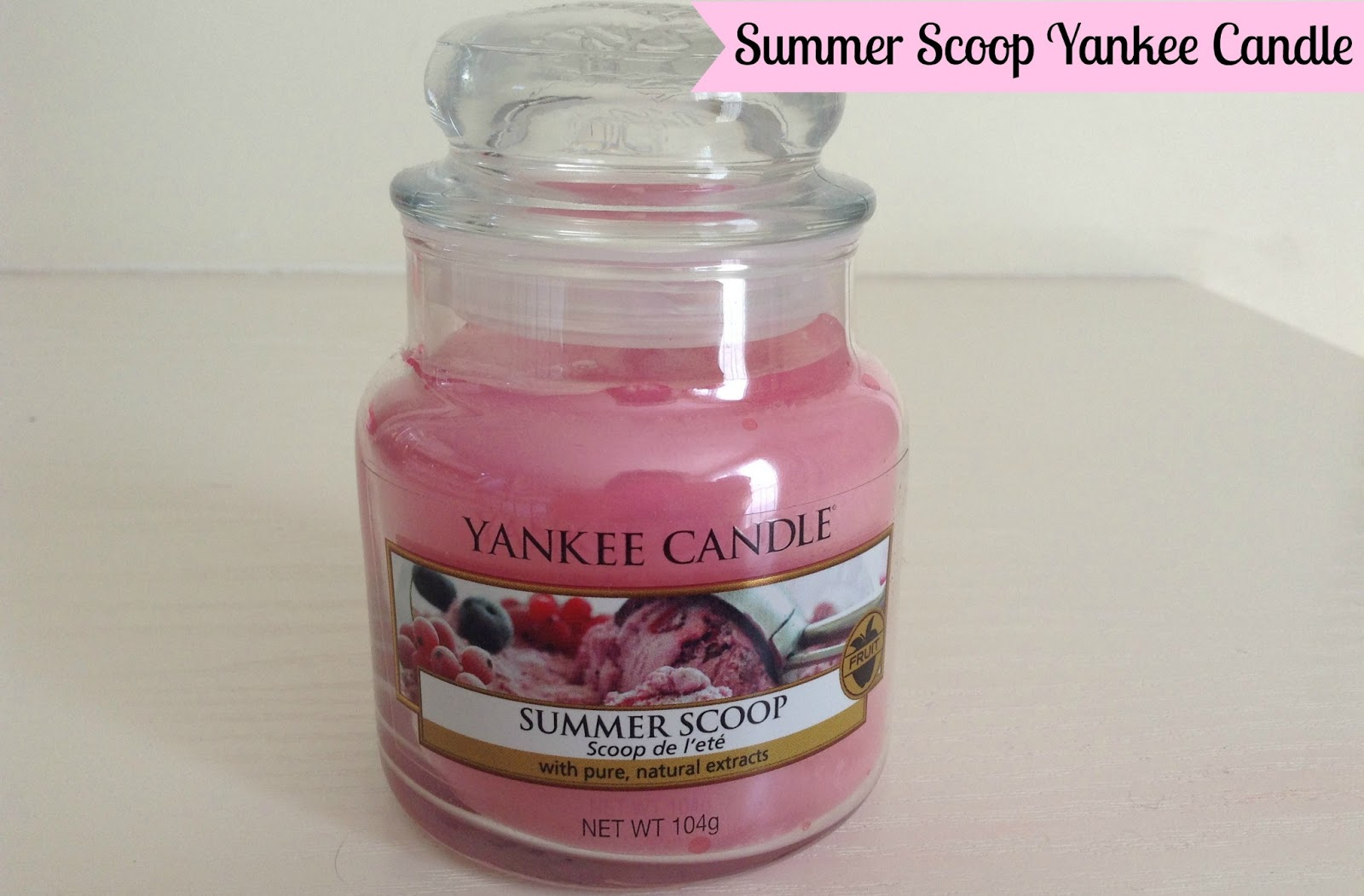 Review Summer Scoop Yankee Candle Fleurdanielle