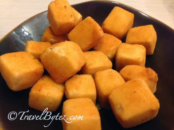 Deep-Fried Beancurd with Salt and Pepper