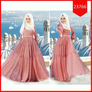 Busana: Baju Hijab Dress Amelly (BBB-065)