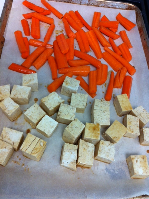 Someone's in the Kitchen: Soy-glazed Tofu, Carrots and ...