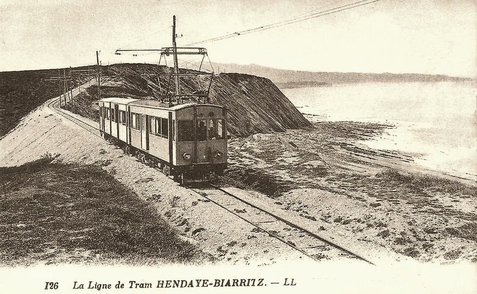 Transpress nz the one time hendaye biarritz tram france for Hendaye france
